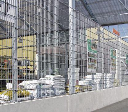 Trennwände für Außenlager und Blocklager