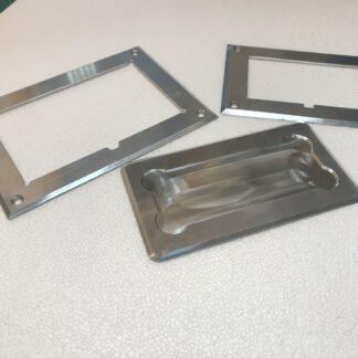 Lagerkennzeichnungen für den Boden aus Metall