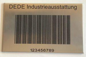 Palettenstellplatz-Kennzeichnung aus Stahl